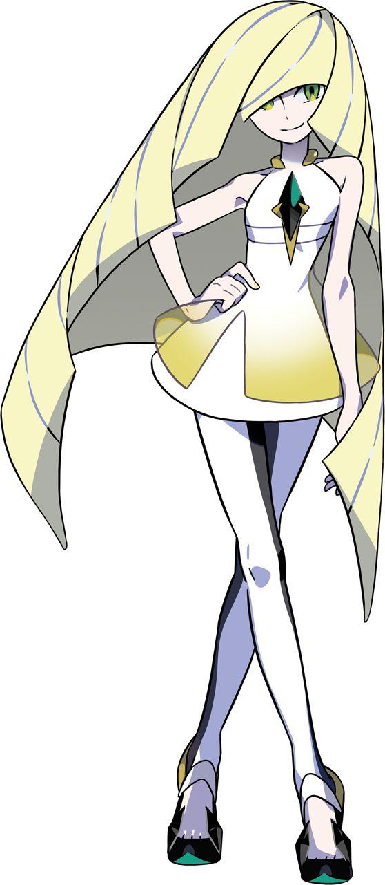 Lusamine from Pokemon Sun & Moon