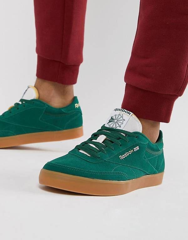 Reebok Club C FVS Sneakers In Green