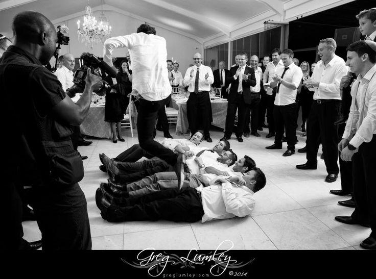 Jewish Wedding.  Dancing at Lourensford estate.  Horah photos.