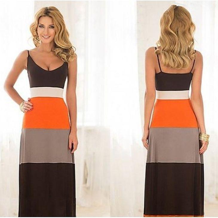 Denne elsker vi! Flott kjole med klare fine farger. Kun 189- #kjole #sommer #sommerklær #mote #fashionforall #dress #twitter #instalikes #minmote #ff #oslo