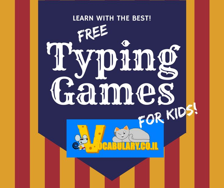 Free typing games that will get your students typing ASAP! vocabulary.co.il