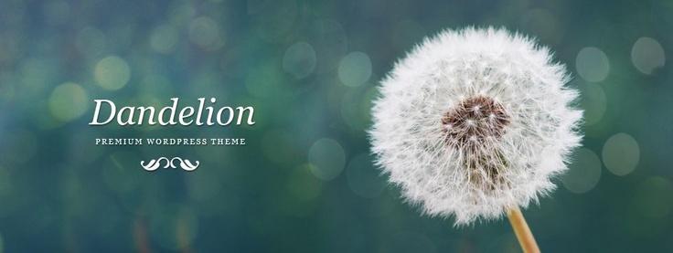 Dandelion – Premium Elegant WordPress Theme