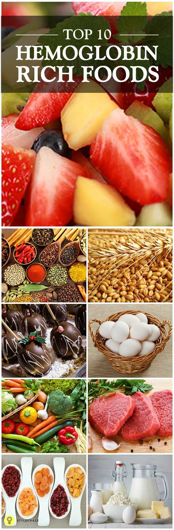 Foods That Boost Your Hemoglobin Levels