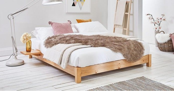 Low Platform Bed Space Saving Low Bed Frame Low Platform Bed