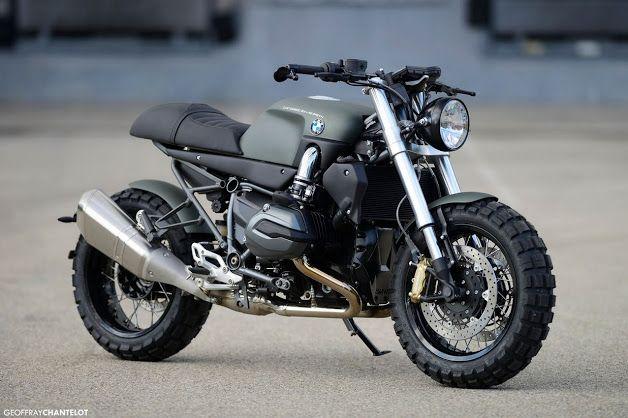 Bmw Motorrad in Schwarz