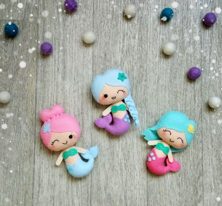 Cute mermaid ornaments Mermaid nursery decorations Baby girl nursery ornaments…