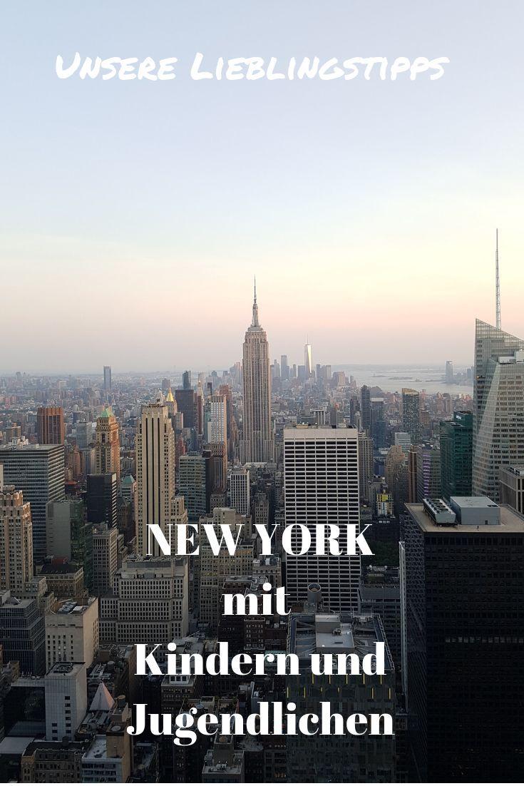 New York mit Kindern und Jugendlichen – unsere besten Tipps