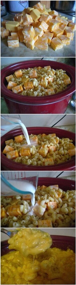 Bobby Flays Slow Cooker Mac N Cheese! #tipit