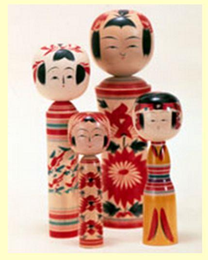 Japanese Kokeshi Dolls - Informative Text