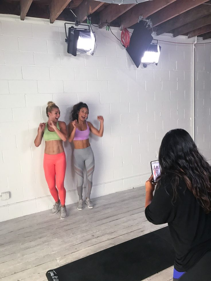 It's a whole new way to work out and connect! #community #connect #it