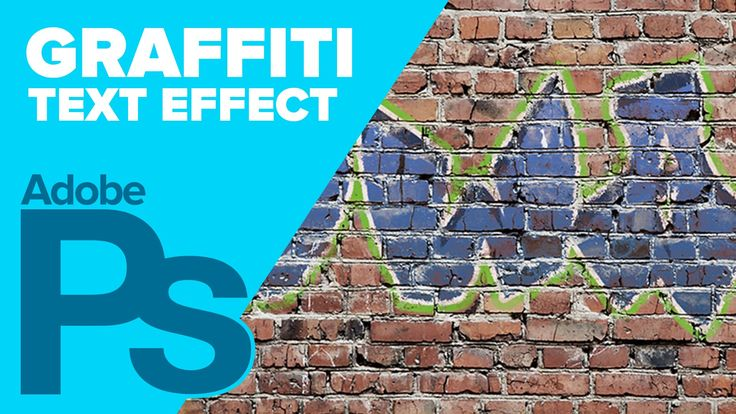"Use the magic of ""Blend If"" to create great looking graffiti in Photoshop! The same blending features can be used for many of your other projects. Make sure ..."