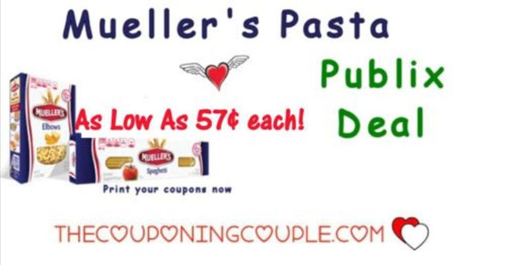 Mueller's Pasta only $0.57 each at Publix starting 9/20 or 9/21. Be sure to get your coupons clipped and ready. Great stock up price! **  Click the link below to get all of the details ► http://www.thecouponingcouple.com/muellers-pasta-only-0-35-each-at-publix-starting-225/ #Coupons #Couponing #CouponCommunity  Visit us at http://www.thecouponingcouple.com for more great posts!