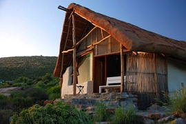 You can huff and puff and not blow down this straw bale house if Oudrif, South Africa. You should go there and try though.