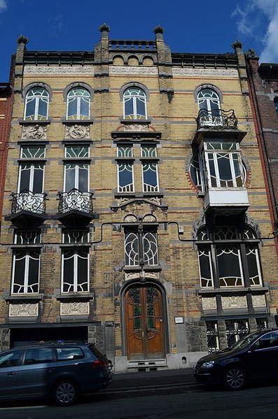 806 best images about modernismo en europa on pinterest prague art nouveau - Maison de l art nouveau ...