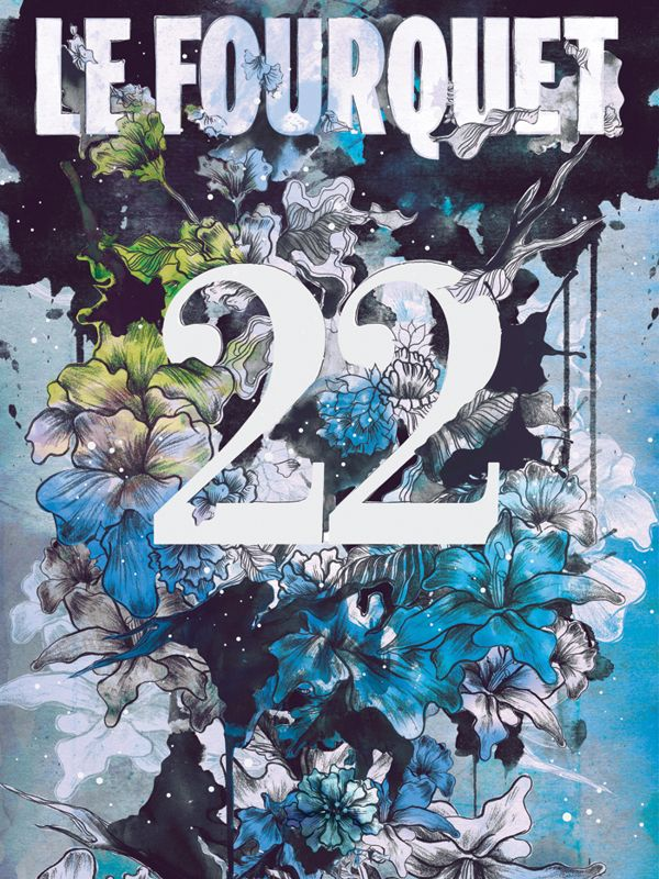 Le Fourquet 22: Illustrated Cover by Daryl Feril, via Behance