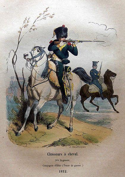 Chasseurs à cheval français du Premier Empire