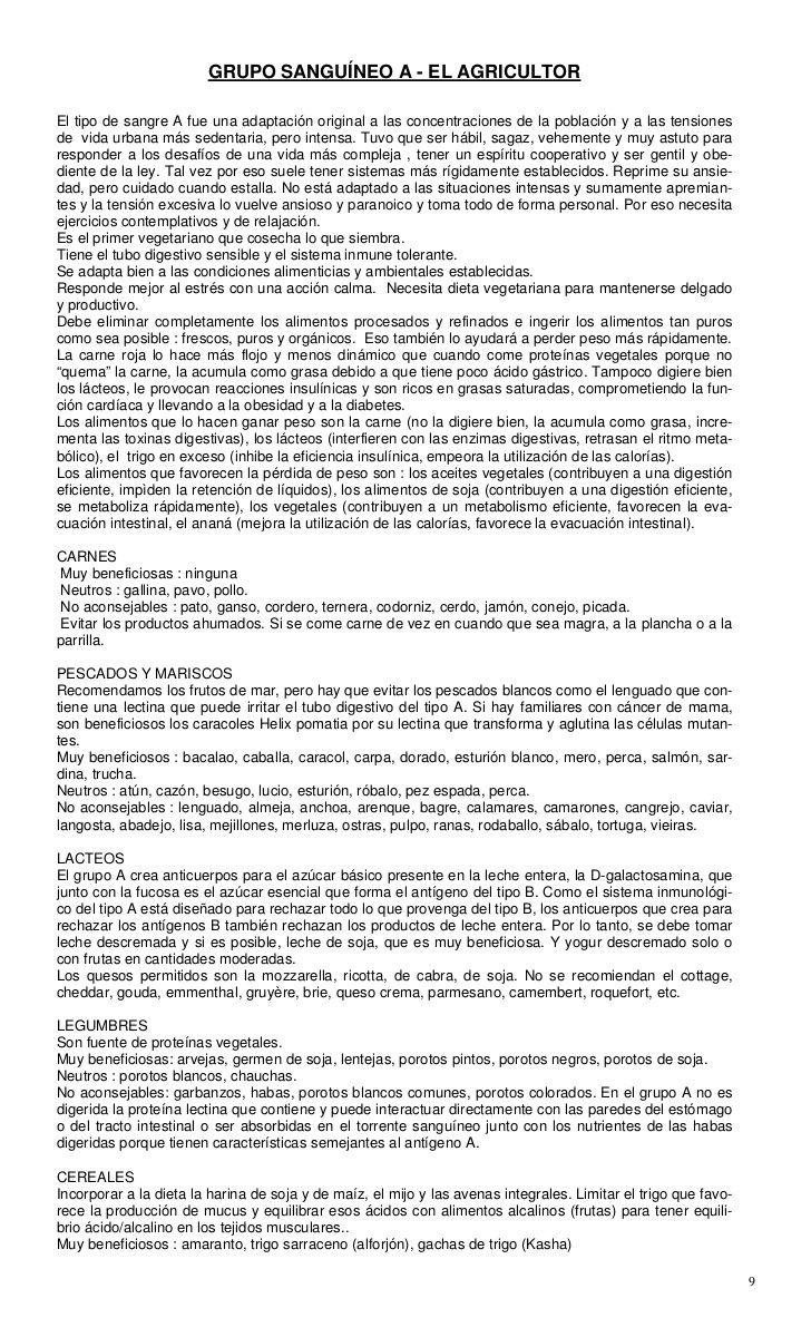 Pdf D Adamo Peter J Grupos Sanguineos Y Alimentacion Colesterol Hepat Grupos Sanguineos Alimentacion Colesterol
