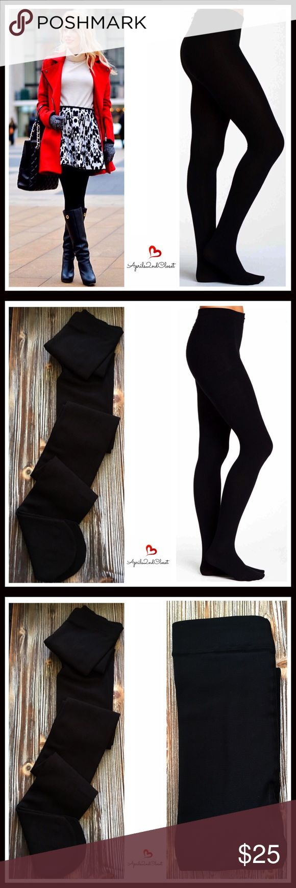 "COZY FLEECE LINED TIGHTS FLEECE LINED TIGHTS   COLOR- JET BLACK  * Super soft, plush & comfortable * High quality & well made * Designed for layering * Stretch-to-fit SIZING- * XS/S = sizes 0-6, 4'10""- 5' 4"", 80-120 LBS * S/M = sizes 2-8, 4'10""-5'6"", 90-135 LBS * M/L = sizes 8-14, 5'4""-6'0"", 130-175 LBS * L/XL = sizes 10-16, 5'6""-6'0"", 170-225 LBS  FABRIC- 94% polyester, 6% spandex; Machine wash cold  * NO TRADES * BUNDLE DISCOUNTS  * OFFERS CONSIDERED   SEARCH # sweater winter fall…"