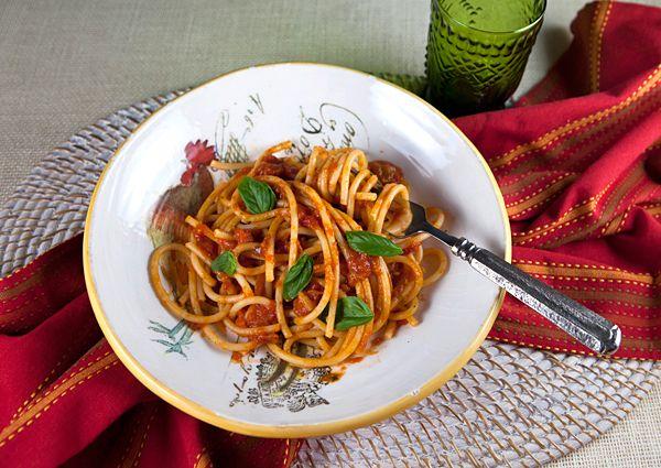 roasted tinned tomato pasta sauce