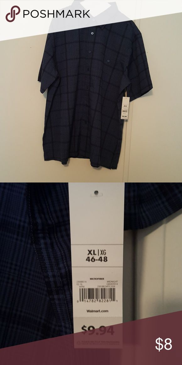 XL George Microfiber Shirt new with tags XL George Microfiber Shirt new with tags George Shirts Casual Button Down Shirts