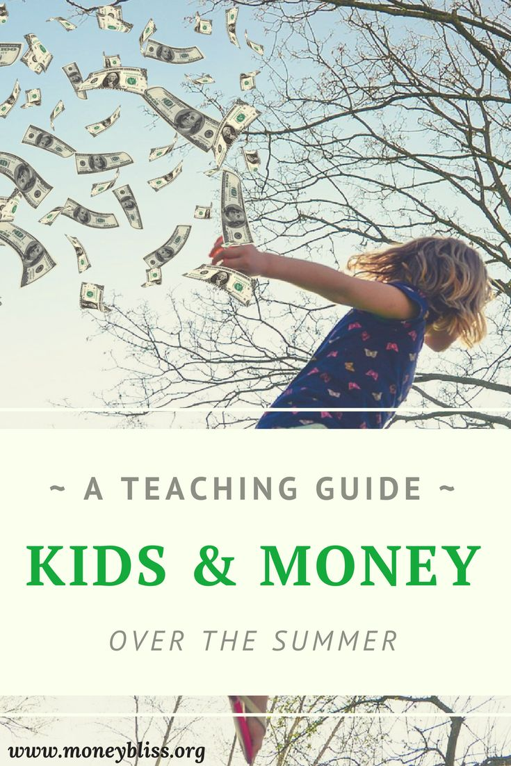 How to teach kids about money over the summer.  Money management activities. Ideas to teach children about money. Tips for kids and parents. Summer Fun Money Envelope.