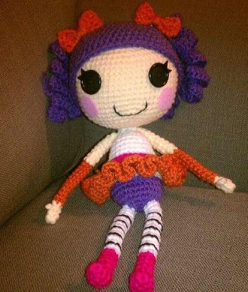Crochet Wedding Dolls Pattern : Crochet Lalaloopsy doll Cool stuff to make Pinterest