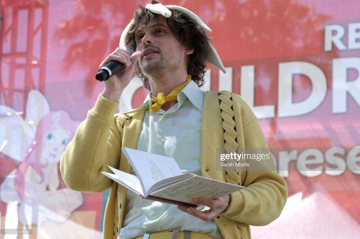 Matthew gray gubler reads his book rumple buttercup a
