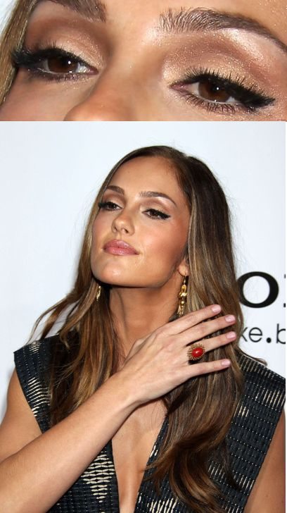 Minka Kelly eye makeup