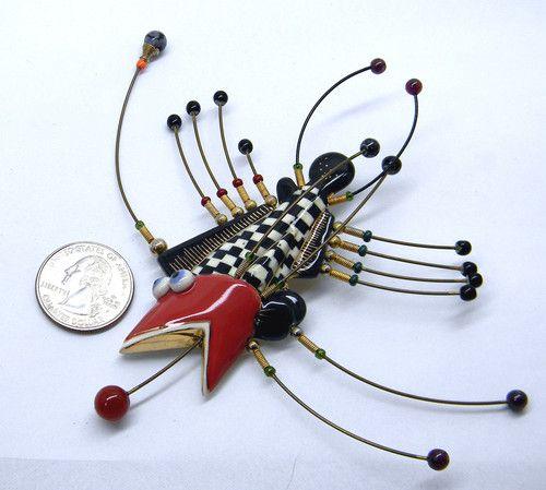 Cynthia Chuang Jewelry 10 Fish Beach Theme Pin Signed | eBay