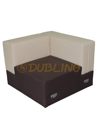Dublino System/50/S/01 - Luongeový roh lavice
