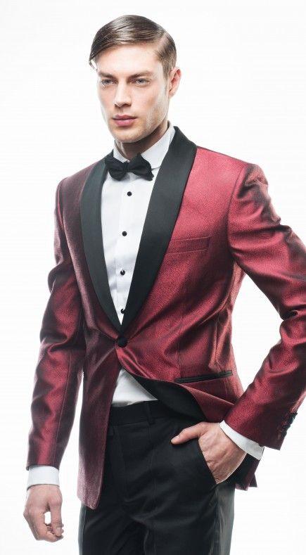 Filip Cezar Shiny Red Jacket