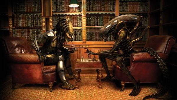 Alien vs Predator Funny wallpaper 1920x1080 ( wallpaper