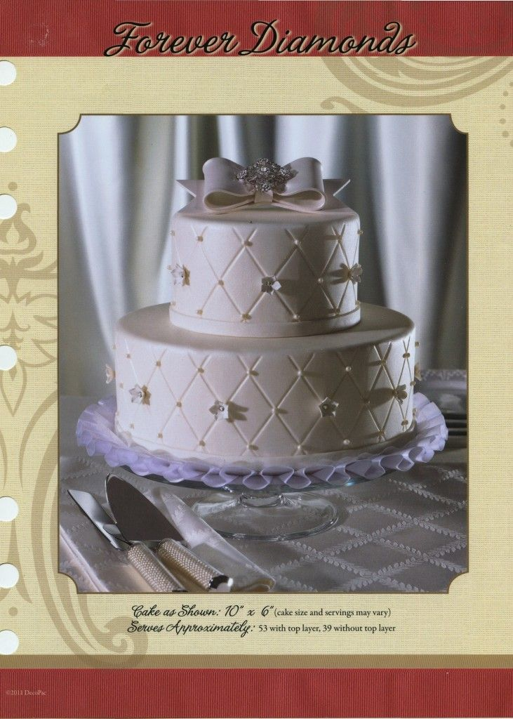 wedding cakes in lagunbeach ca%0A Forever Diamonds Wedding Cake from Ripon Pick n Save u    s bakery  Click the  picture for many