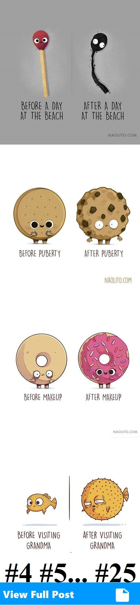 Adorably Witty Illustrations Of Everyday Objects