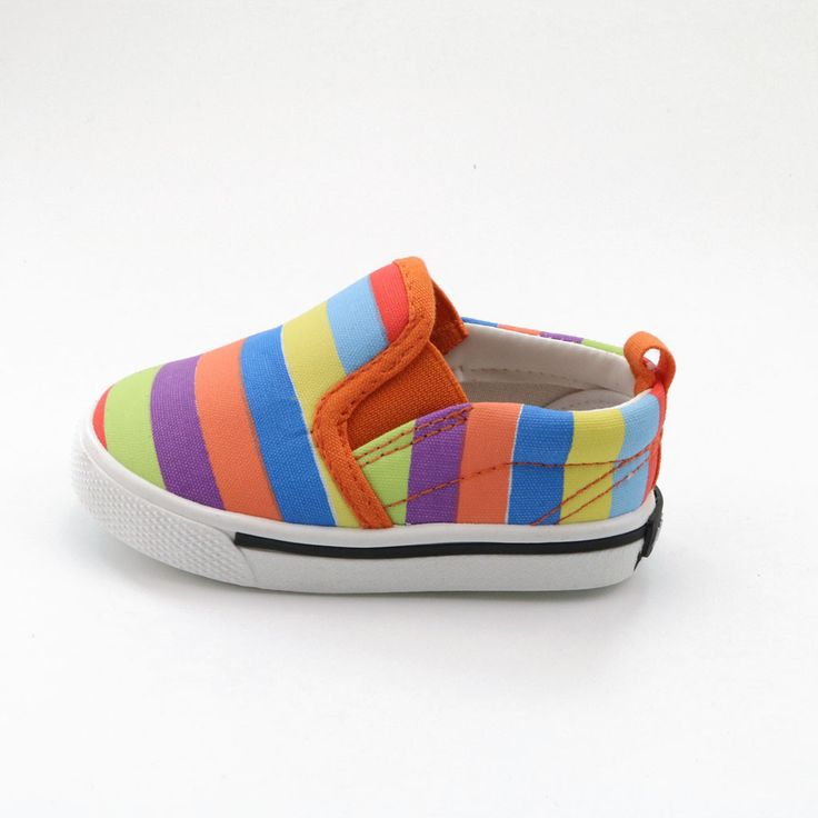 Rainbow pattern box pattern baby shoes children casual shoes boys girls fashion sneakers. Brand Name: JUSTSL   Gender: Unisex   Upper Material: Canvas   Insole Material: Rubber   Feature: Breathable   Pattern Type: Striped   Outsole Material: Plastic   Closure Type: Slip-On   Lining Material: Cotton Fabric   Season: Autumn Spring   Fit: Fits true to size, take your normal size   Department Name: Children   Item Type: casual shoes   No.: A287