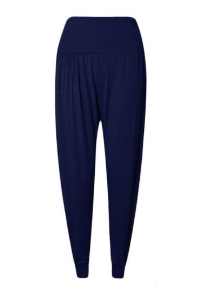 Alice Navy Blue Harem Pants