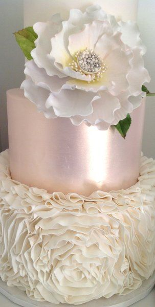 I like this paint color on the cake:)