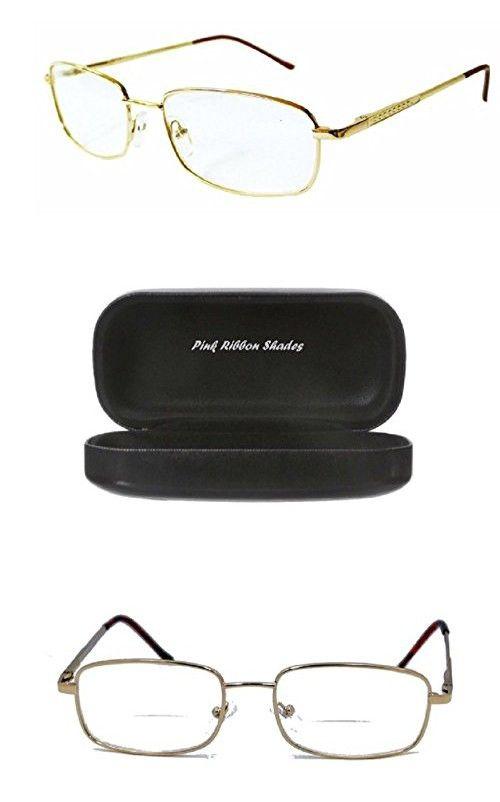 e1494d2916 Flexible Bifocal - Reading Glasses Look Smart - Gold 2.25 ...