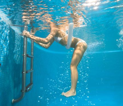 Get Toned in the Pool: Workouts