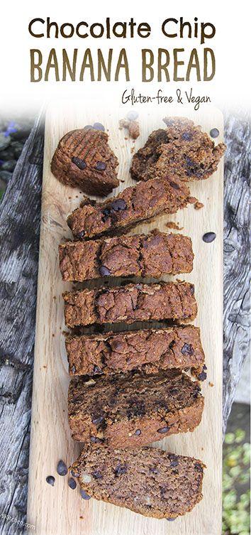Chocolate chip banana bread by Trinity Gluten-free, vegan deliciousness!