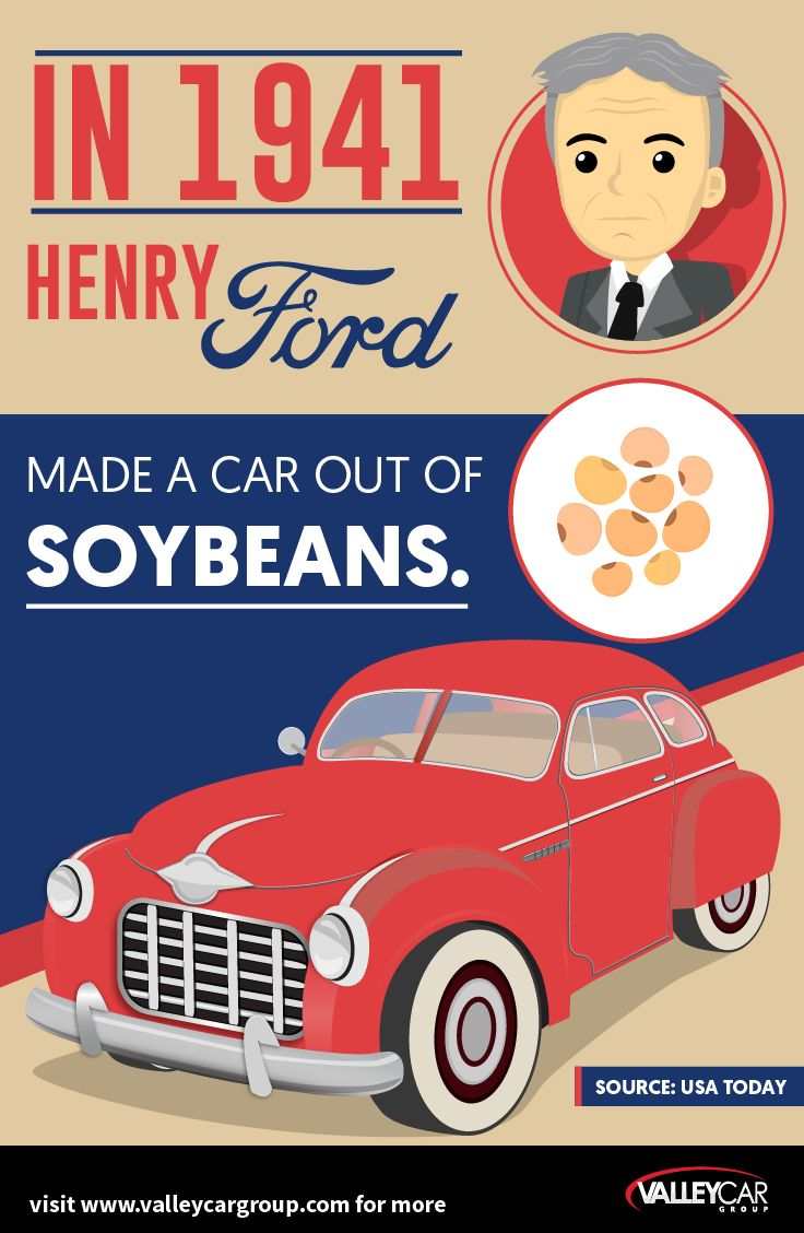 A car made out of soybeans yes it existed visit www valleycargroup