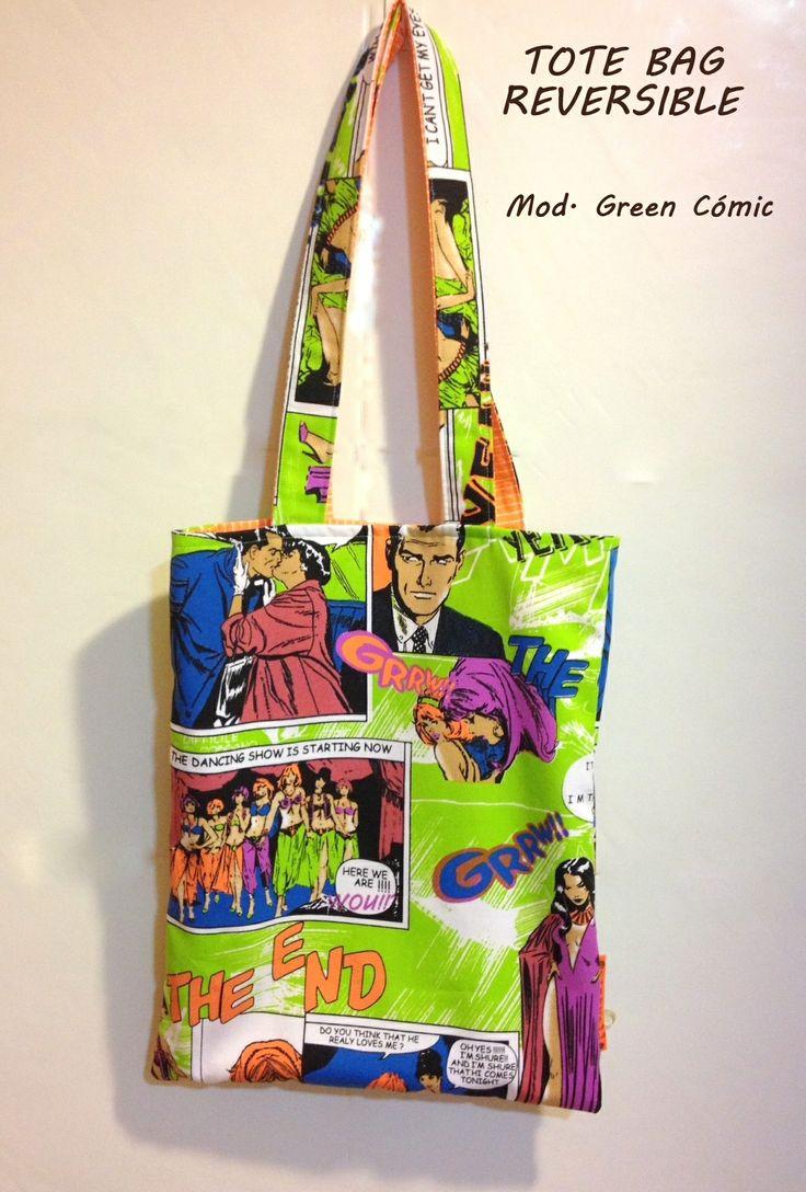 Tote Bag Reversible