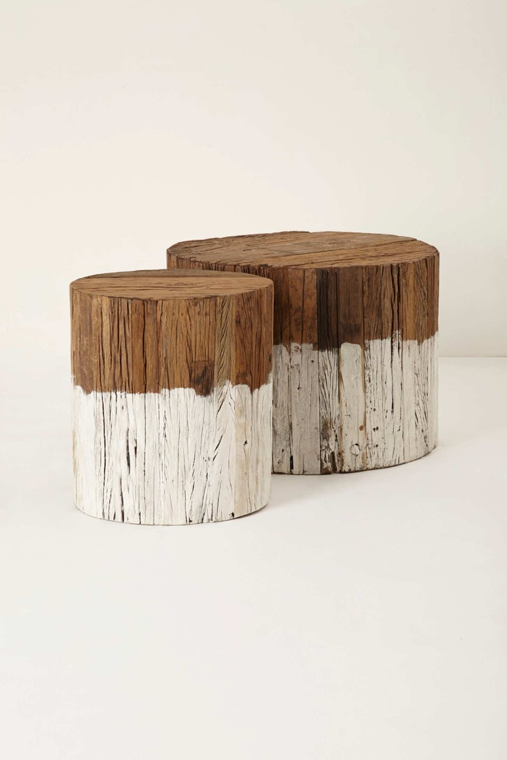 Dip-Dyed Side Table, Large | Anthropologie.eu
