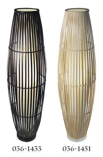 LAMPE SUR PIED EN BAMBOU | Code BMR :�036-1433