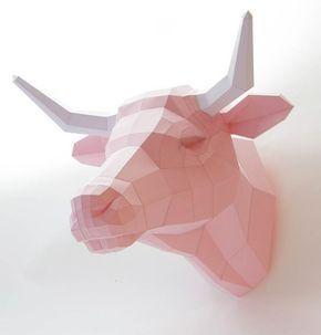 Polygonal Animals – De jolis animaux géométriques en papier   Ufunk.net