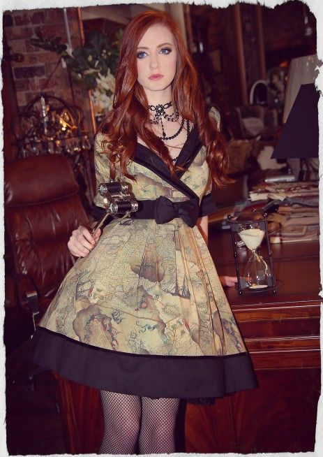 1770 Collar Dress