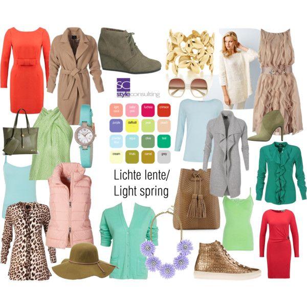 Lichte lente/ Light spring color type.