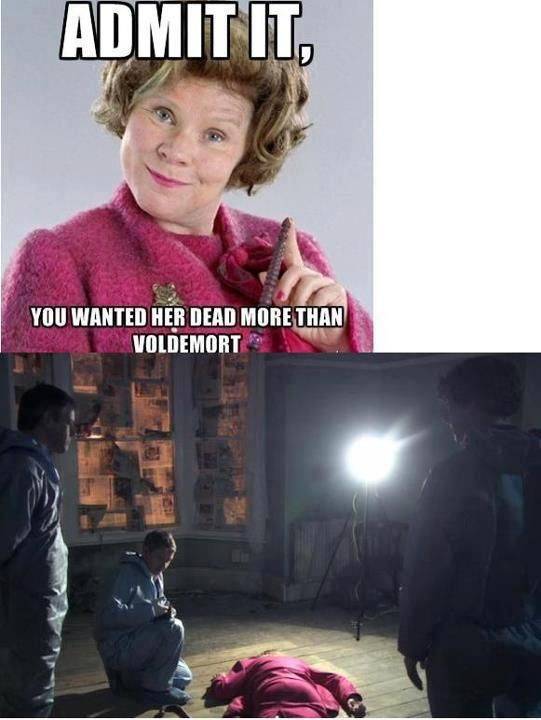 It's funny I found this one because I am watching Harry Potter right now.