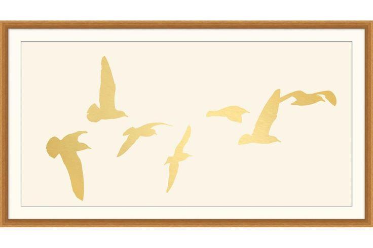 Layered Birds | Gallery1 Furniture