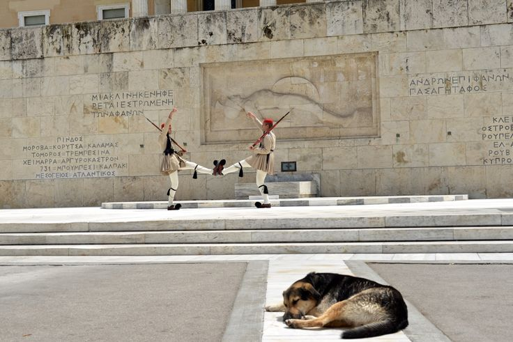 Change of Guards in Athens